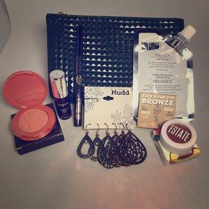 Makeup bag goodies